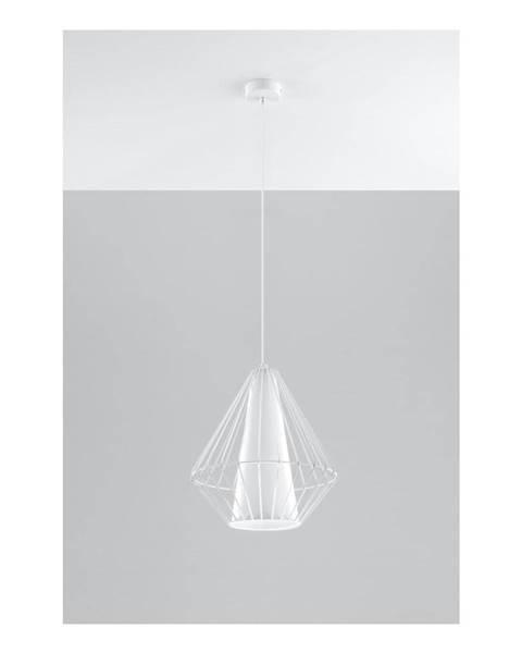 Nice Lamps Biele závesné svietidlo Sollux Alfredo