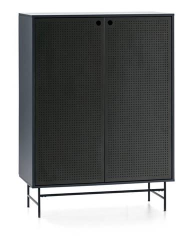 Čierno-modrá skrinka Teulat Punto