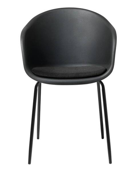 Unique Furniture Čierna jedálenská stolička Unique Furniture Topley