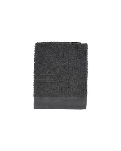 Čierny uterák Zone Nova, 50x70cm
