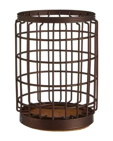 Železný stojan v bronzovej farbe na kuchynské nástroje Premier Housewares, Ø 12×17 cm