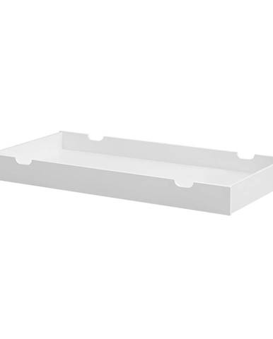Biela zásuvka pod postieľku Pinio Moon, 70×140cm