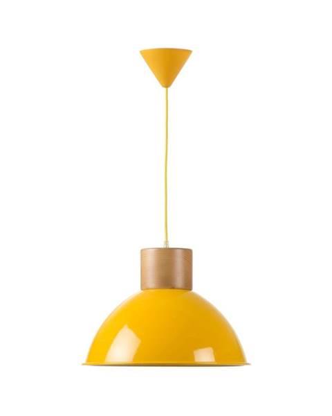 Really Nice Things Žlté závesné svietidlo Really Nice Things Madera