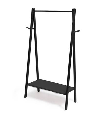 Čierny stojan na oblečenie Really Nice Things Rack