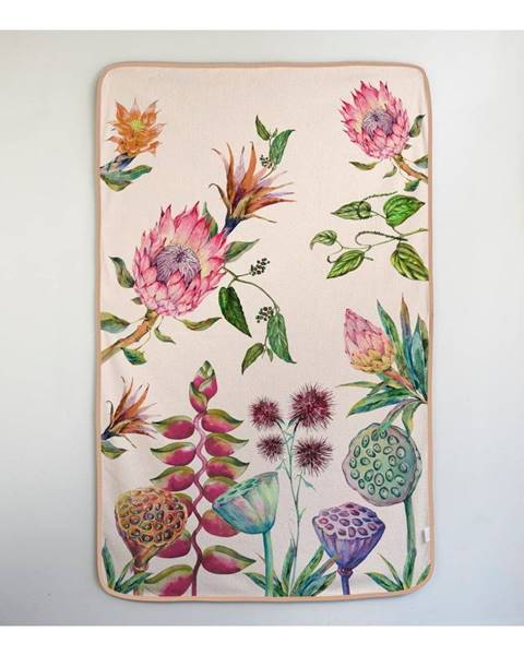 Madre Selva Osuška Madre Selva Flores Salvajes, 90×150 cm
