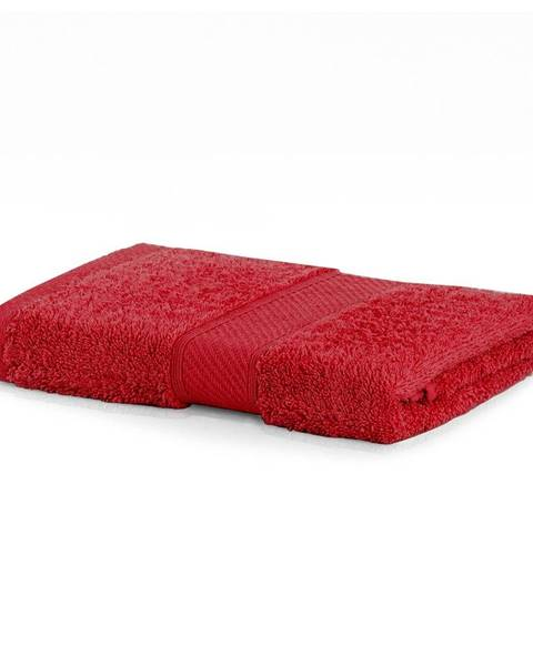 DecoKing Červený uterák DecoKing Bamby, 50 × 100 cm