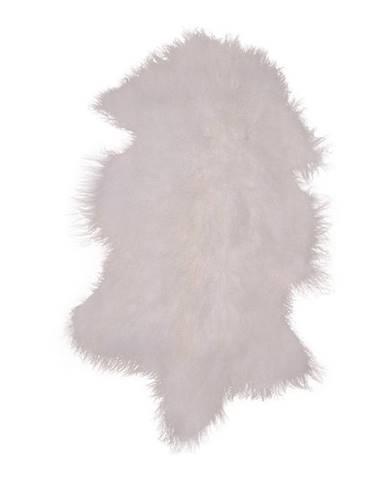 Biela kožušina z mongolskej ovce HoNordic