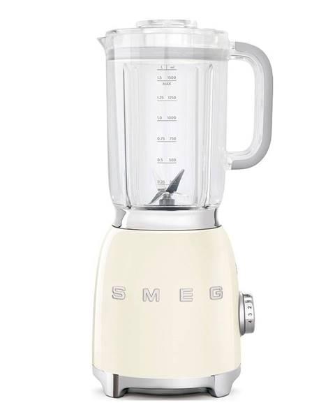 SMEG Krémovo-biely stolový mixér SMEG