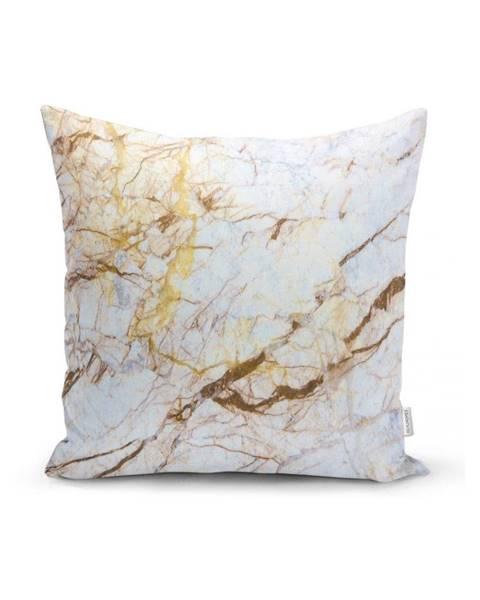 Minimalist Cushion Covers Obliečka na vankúš Minimalist Cushion Covers Luxurious Marble, 45 x 45 cm