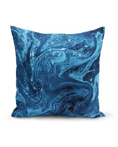 Obliečka na vankúš Minimalist Cushion Covers Azuleo, 45 x 45 cm