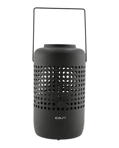 Čierna plynová lampa Cosi Drop, výška 37 cm