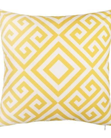 Obliečka na vankúš Mike&Co.NEWYORK Lemoncurd, 43 × 43 cm
