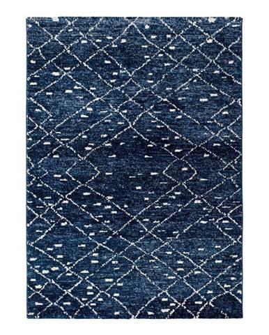 Modrý koberec Universal Indigo Azul, 60×120 cm