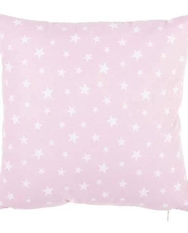 Ružová bavlnená obliečka na vankúš Mike&Co.NEWYORK Mirro, 35 x 35 cm
