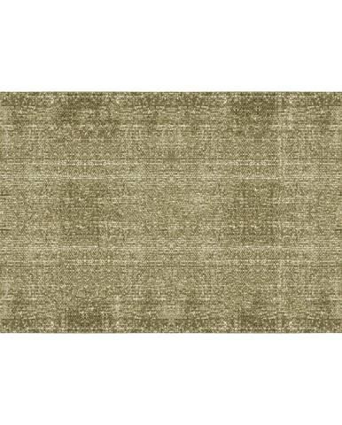 Zelený bavlnený koberec PT LIVING Washed, 140×200cm