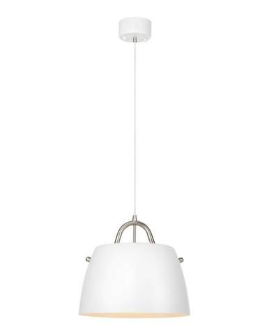 Biele závesné svietidlo Markslöjd Spin Pendant White