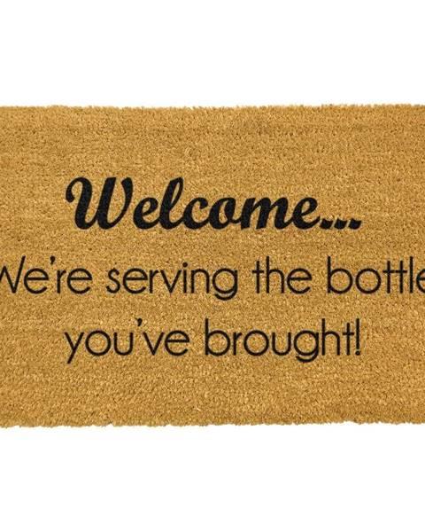 Artsy Doormats Rohožka z prírodného kokosového vlákna Artsy Doormats Bottle You&