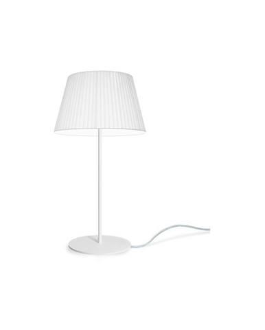 Biela stolová lampa Sotto Luce KAMI Elementary M 1T