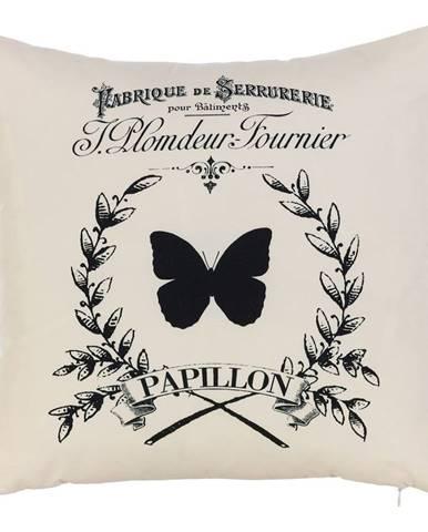 Obliečka na vankúš Mike&Co.NEWYORK Papilon, 43 × 43 cm