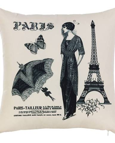 Obliečka na vankúš Mike&Co.NEWYORK Paris, 43 × 43 cm
