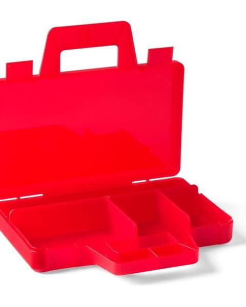 LEGO® Červený úložný box LEGO® To Go