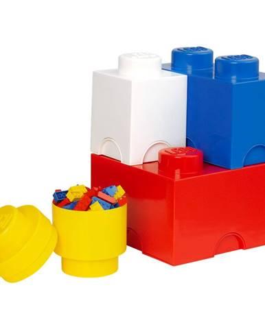 Sada 4 úložných boxov LEGO®
