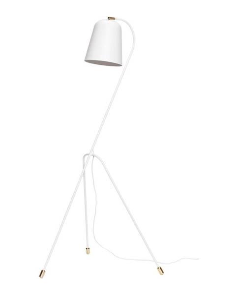 Hübsch Biela voľne stojacia lampa Hübsch Floor Lamp, výška 156 cm