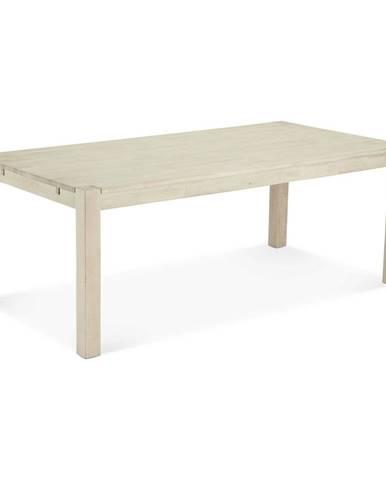 Jedálenský stôl z dubového dreva FurnhoTexas, 200 x 100 cm
