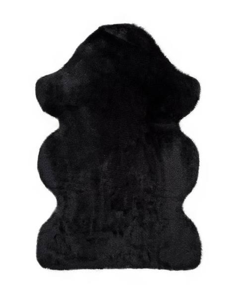 Universal Čierny koberec Universal Fox Liso, 60 x 90 cm