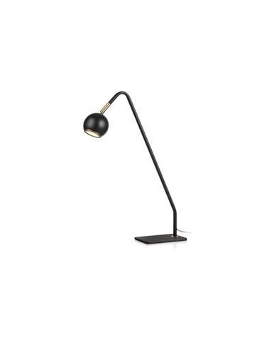 Čierna stolová lampa Markslöjd Coco, výška 47 cm