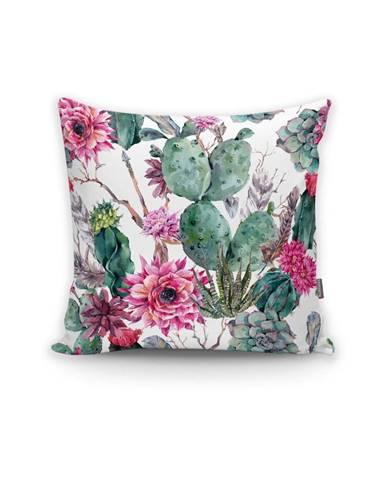Obliečka na vankúš Minimalist Cushion Covers Cactus And Roses, 45×45 cm