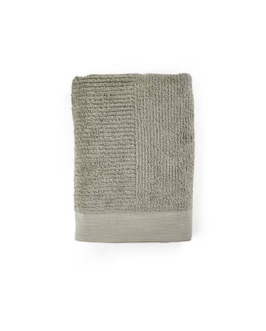 Sivozelená osuška zo 100% bavlny Zone Classic Eucalyptus, 70×140 cm
