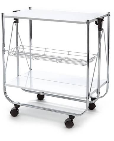 Skladací kovový servírovací stolík Tomasucci Kit