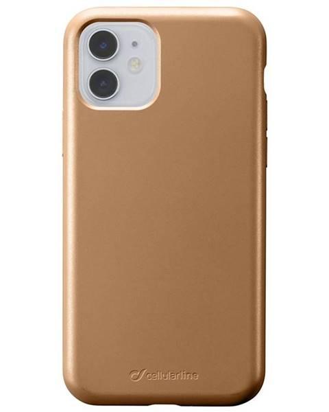 CellularLine Kryt na mobil CellularLine Sensation Metallic na Apple iPhone 11