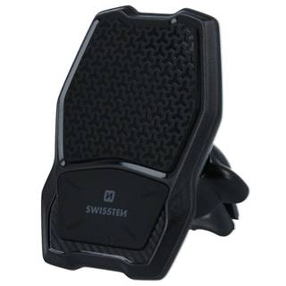 Držiak na mobil Swissten WM1-AV3 s bezdrátovým nabíjením čierny