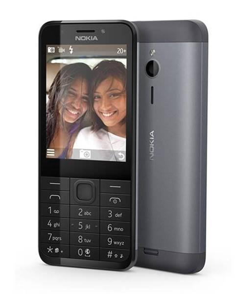 Nokia Mobilný telefón Nokia 230 Dual SIM čierny