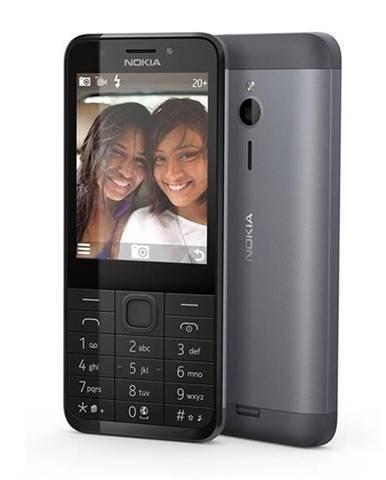 Mobilný telefón Nokia 230 Dual SIM čierny