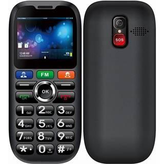 Mobilný telefón Cube 1 S100 Senior Dual SIM čierny