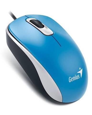 Myš  Genius DX-110 modrá / optická / 3 tlačítka / 1000dpi