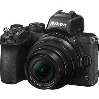 Digitálny fotoaparát Nikon Z50 + 16-50 VR čierny