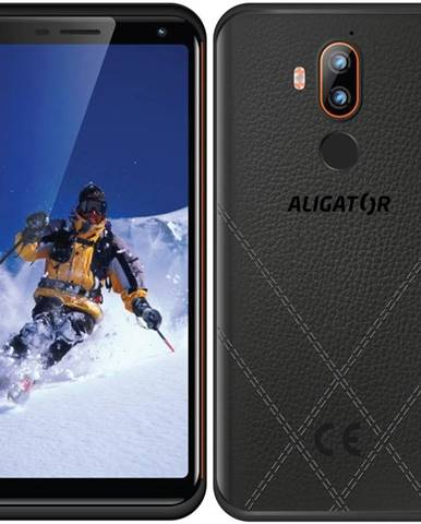 Mobilný telefón Aligator RX800 eXtremo čierny/oranžový