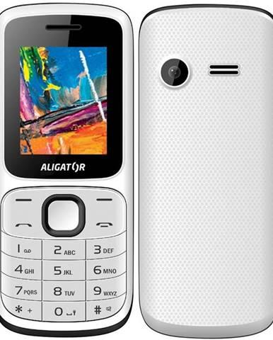 Mobilný telefón Aligator D210 Dual SIM čierny/biely