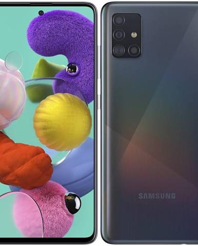 Mobilný telefón Samsung Galaxy A51 čierny