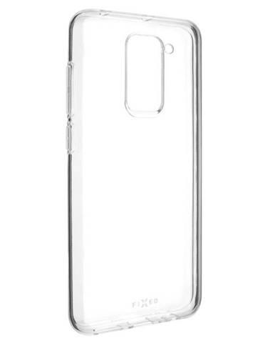 Kryt na mobil Fixed na Xiaomi Redmi Note 9 priehľadný
