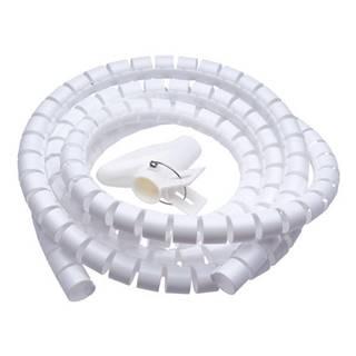Trubice pro kabely Connect IT Winder, 2,5m x 20mm - bílá
