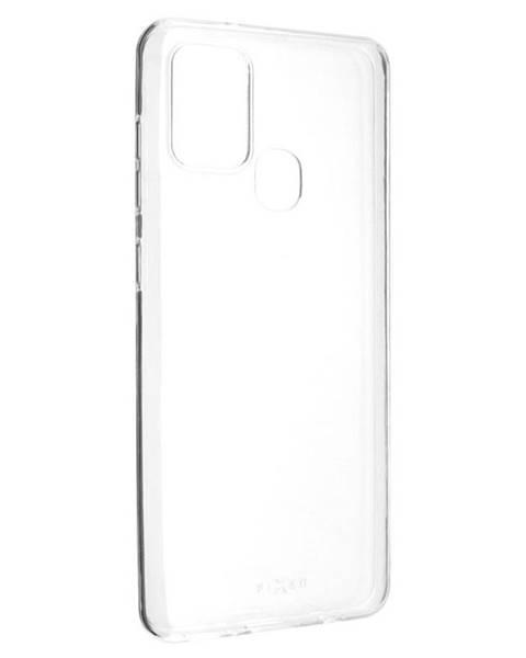 FIXED Kryt na mobil Fixed Skin na Samsung Galaxy A21s priehľadný