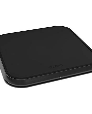 Bezdrôtová nabíjačka Zens Aluminium Single 10W čierna