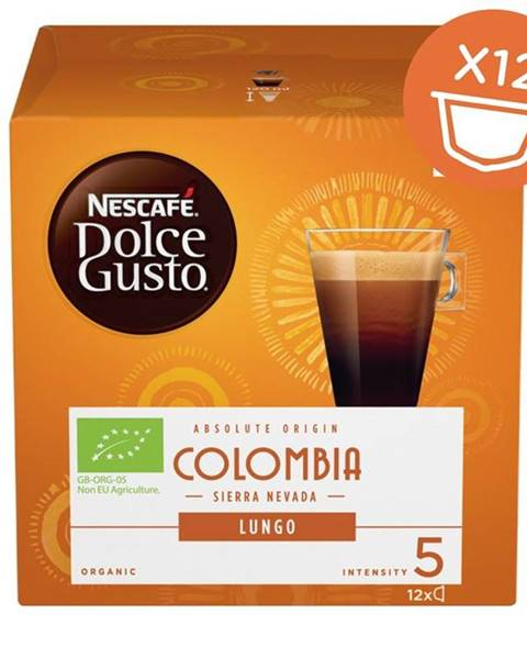 Nescafé NescafÉ Dolce Gusto® Colombia Sierra Nevada Lungo kávové kapsule 12