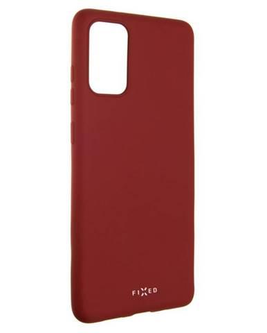 Kryt na mobil Fixed Story na Samsung Galaxy S20+ červený