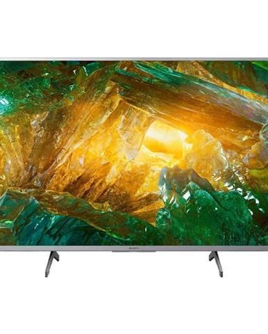 Televízor Sony KD-43XH8077 strieborn